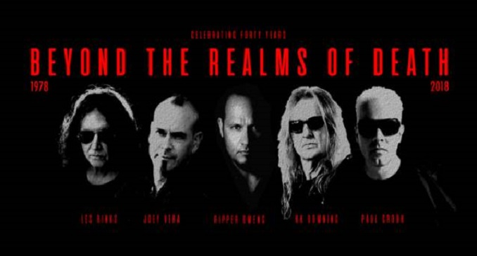 "Tim ""Ripper"" Owens, K.K. Downing, Les Binks con i Devilstar e la cover dei Judas Priest 'Beyond The Realms Of Death'"
