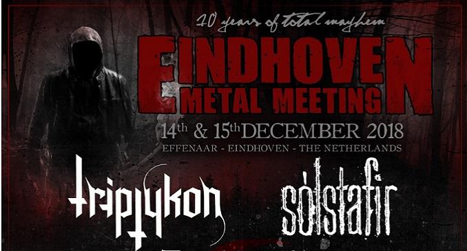 La decima edizione dell'Eindhoven Metal Meeting 2018