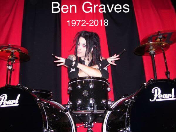 MURDERDOLLS - È morto l'ex batterista Ben Graves