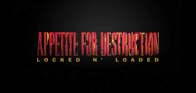 GUNS N' ROSES - La ristampa deluxe di Appetite For Destruction
