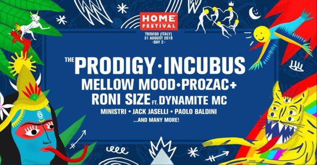 HOME FESTIVAL - La lineup completa dei primi due giorni
