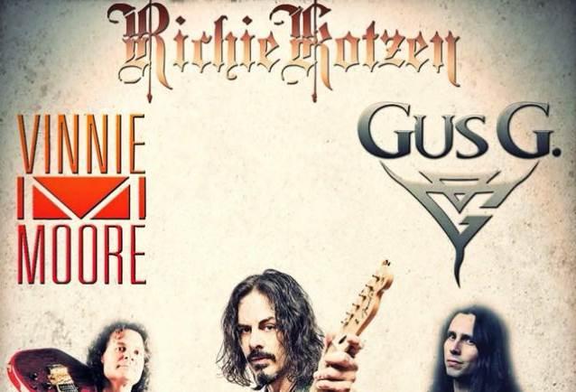 Richie Kotzen, Vinnie Moore e Gus G. insieme in tour in autunno