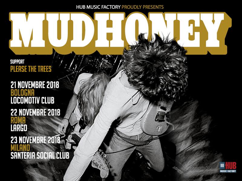 MUDHONEY: a breve in Italia con 3 date a 30 anni da Superfuzz Bigmuff. Info biglietti e scaletta
