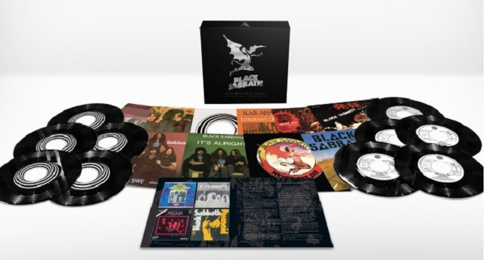 Black Sabbath - Guarda il trailer di 'Supersonic Years - The Seventies Singles Box Set', cofanetto con 10 singoli!!!