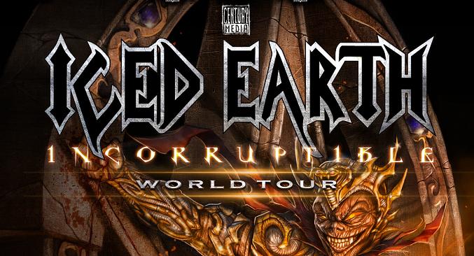 Iced Earth - L'invito ai fan ai concerti europei!!!