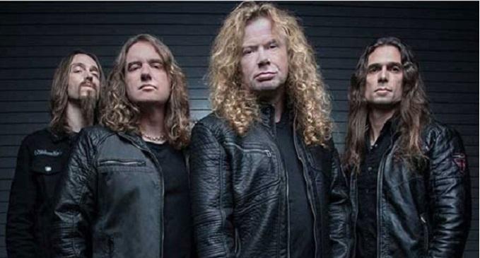 Megadeth - Al Rock in Roma 2018