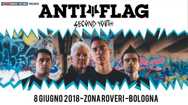 ANTI FLAG - Gli orari della data di Bologna