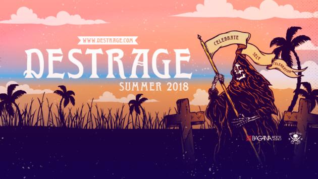 DESTRAGE - Il nuovo tour e le date con i Meshuggah