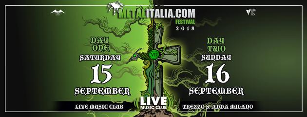 METALITALIA.COM FEST - Annunciate le band del festival