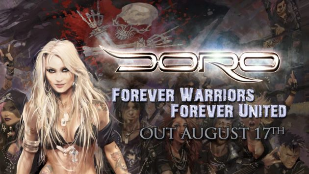 "DORO - Il nuovo lyric video di ""Lift Me Up"""