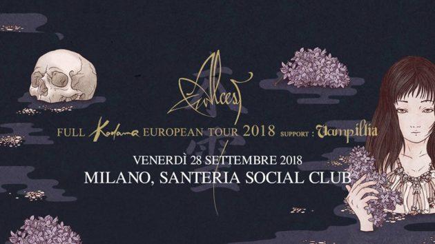ALCEST - A Settembre in Italia