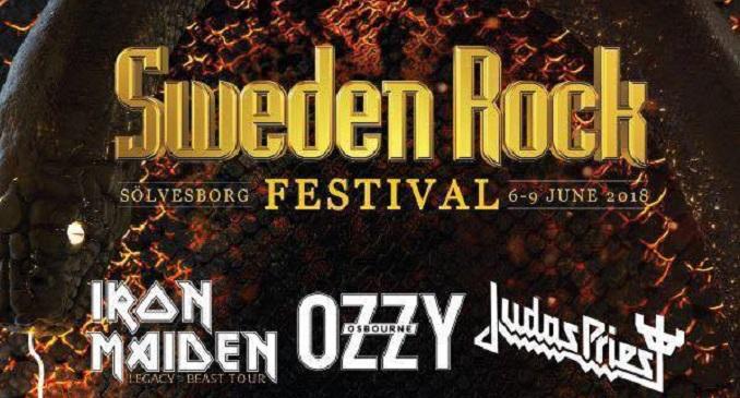Sweden Rock Festival – Sölvesborg (SWE) – 6-9 giugno 2018