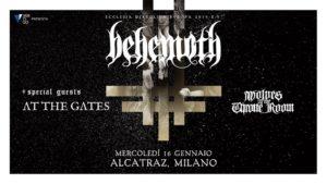 BEHEMOTH + AT THE GATES + WOLVES IN THE THRONE ROOM @ Alcatraz | Milano | Lombardia | Italia