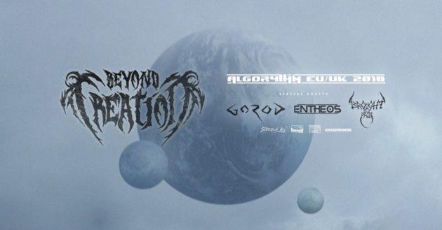 BEYOND CREATION - A Novembre in Italia