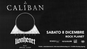 CALIBAN @ Rock Planet | Cervia | Emilia-Romagna | Italia