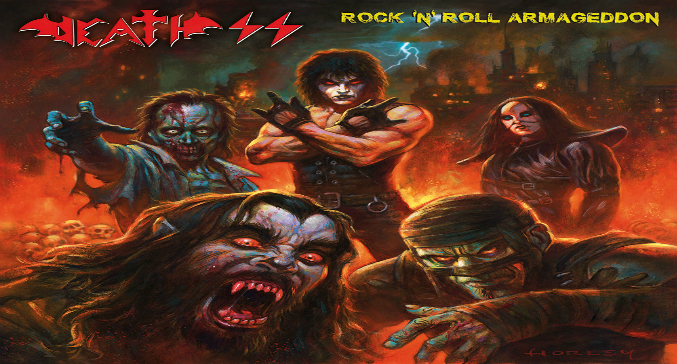 Death SS: il video di 'Rock'N'Roll Armageddon' dal nuovo disco