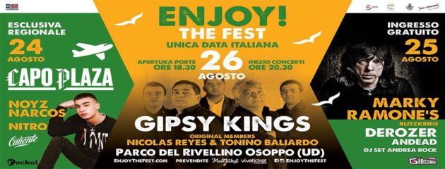 ENJOY! THE FEST - Un nuovo festival a Udine