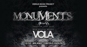 MONUMENTS @ Circolo Svolta | Rozzano | Lombardia | Italia