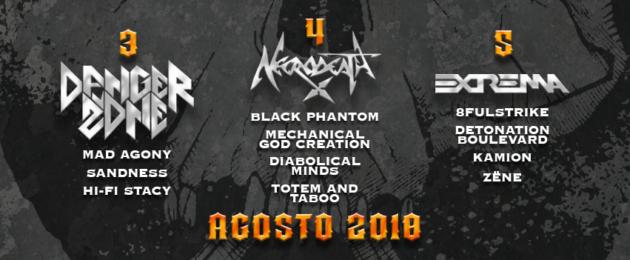 PADOVA METAL FEST - Il running order del festival
