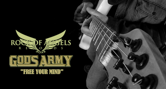GOD'S ARMY - Brano on line per la band con membri di Helloween, Scanner, Firewind & more