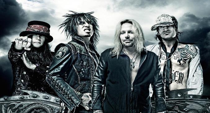 Mötley Crüe: la band in studio per incidere quattro nuovi brani