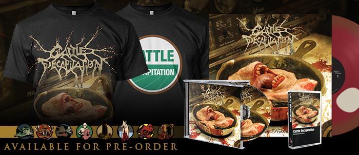 CATTLE DECAPITATION - Esce un album da collezione