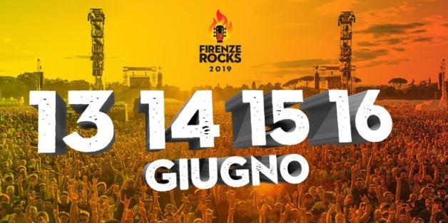 FIRENZE ROCKS - Annunciate le nuove date del 2019
