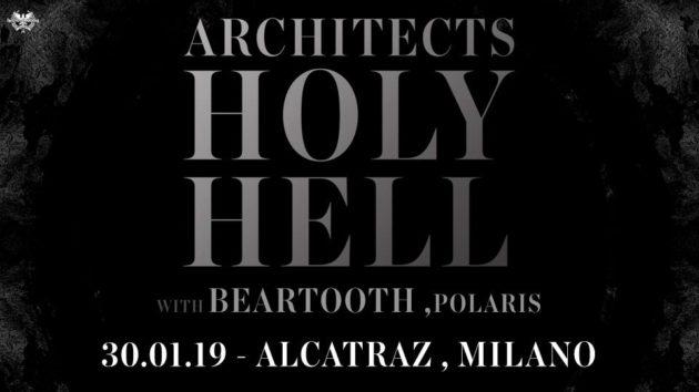 THE ARCHITECTS - A Gennaio in Italia