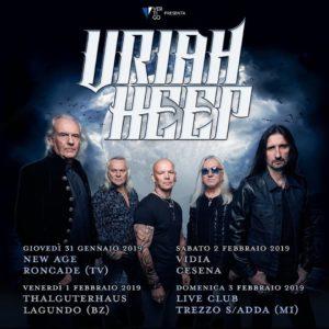 Uriah Heep @ THALGUTERHAUS | Algund | Trentino-Alto Adige | Italia