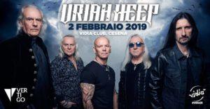 Uriah Heep @ Vidia Club | Cesena | Emilia-Romagna | Italia