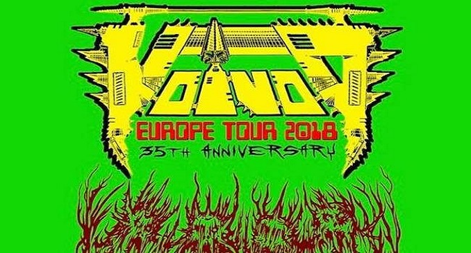 Voivod + Nightrage + Game Over @ Largo Venue, Roma - 19 settembre 2018
