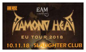 Diamond Head + Gin Annie@ Slaughter Club - Paderno Dugnano (MI) @ Slaughter Club    Paderno Dugnano   Lombardia   Italia