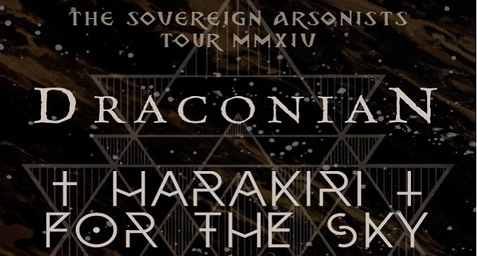 Drakoninan + Harakiri for he Sky - Due Data in Italia a Gennaio e Febbraio