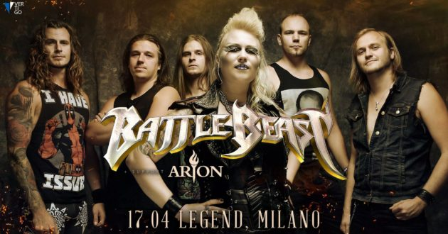 BATTLE BEAST - Annunciata una data italiana