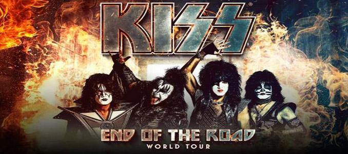 KISS: il 2 luglio 2019 all'Ippodromo di San Siro per il END OF THE ROAD TOUR