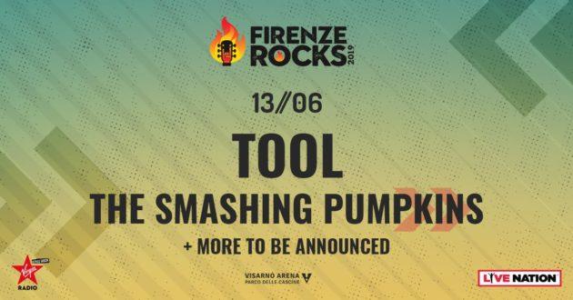 FIRENZE ROCKS - Confermati gli Smashing Pumpkins