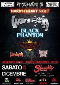 Vanexa,  Black Phantom,  Crimson Dawn + altri @  Slaughter Club Milano | Paderno Dugnano | Lombardia | Italia