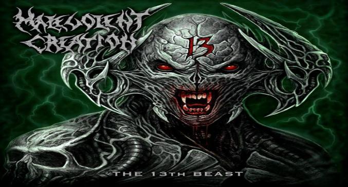 Malevolent Creation: tracklist e copertina del nuovo album 'The 13th Beast'