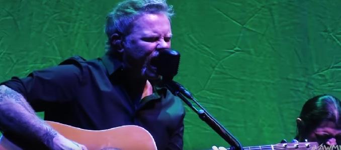 Metallica: nuovo video unplugged di All Within My Hands e aiuto ai sopravvissuti dell'incendio