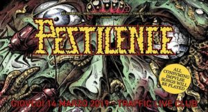 """Pestilence """"Consuming Impulse, 30th Anniversary tour"""" + guests @ Traffic Live, Roma"""