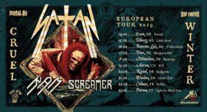 Fight For Metal Fest 8: Satan + RAM + Screamer + guests @ Mu, Parma