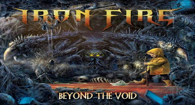 Iron Fire: la copertina del nuovo album 'Beyond The Void'