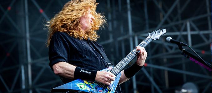 Dave Mustaine annuncia con un post di avere il cancro.