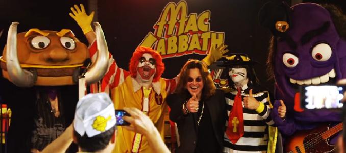 OZZY OSBOURNE: assiste ad uno show della band parodia MAC SABBATH, guarda il video!