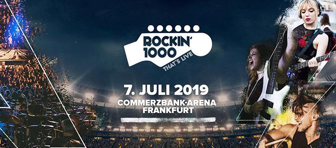 Rockin'1000 tour europeo! Una data in Germania a luglio 2019