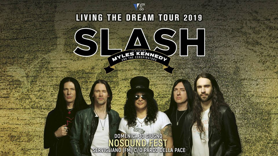 SLASH - Doppia data con Myles Kennedy and The Conspirators