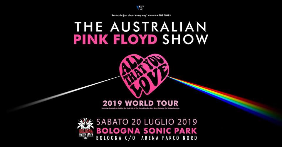 THE AUSTRALIAN PINK FLOYD SHOW - La band psichedelica al Bologna Sonic Park