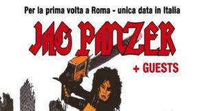 Jag Panzer @ Jailbreak Live Club, Roma