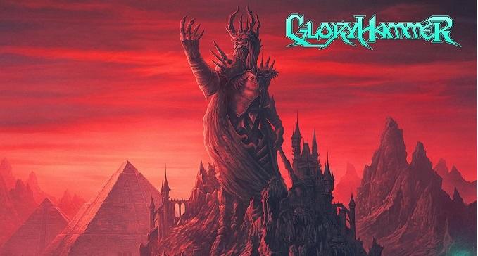 Gloryhammer - Svelata Copertina e titolo del nuovo Album: 'Legends From Beyond The Galactic Terrorvortex!'