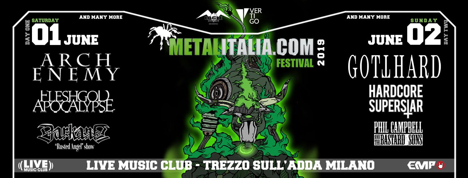 METALITALIA FEST - Confermate le prime band